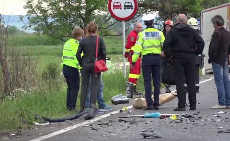 Au murit într-un accident în Mureș. Mașina cu numere de înmatriculare de corp diplomatic