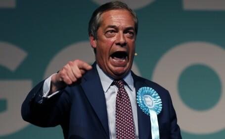 Anunțul lui Nigel Farage privind ieșirea UK din UE. Ce se va întâmpla cu Brexitul