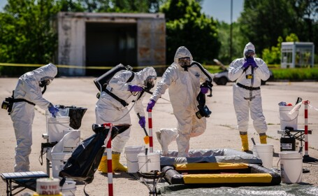 Simulare de incident nuclear la Giurgiu. Ce ar face autorităţile în cazul unei ameninţări - 10