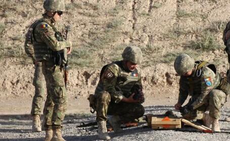 5 militari români, răniţi în Afganistan în urma unui atac cu o bombă artizanală