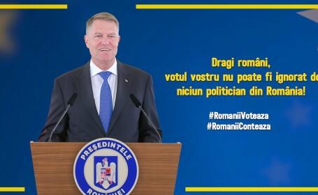 Klaus Iohannis şi-a schimbat fotografia de copertă a paginii de Facebook. Mesajul transmis