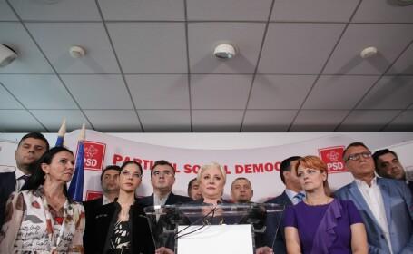 Şedinţă de urgenţă la PSD după condamnarea lui Dragnea. Dăncilă preia conducerea