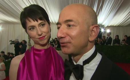 Jeff Bezos și fosta soție