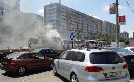 incendiu tramvai - 2