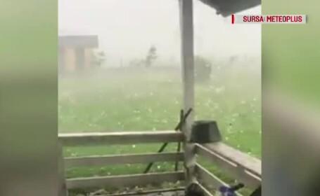 Fenomenele meteo care au făcut prăpăd în Sălaj vor lovi și alte zone ale țării