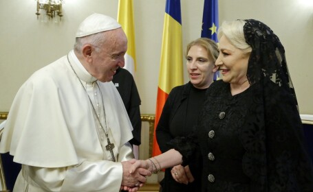 Papa Francisc in Romania, Viorica Dancila
