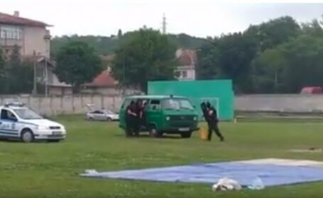 Trei copii, răniţi de poliţişti cu o grenadă la o demonstraţie de Ziua Copilului