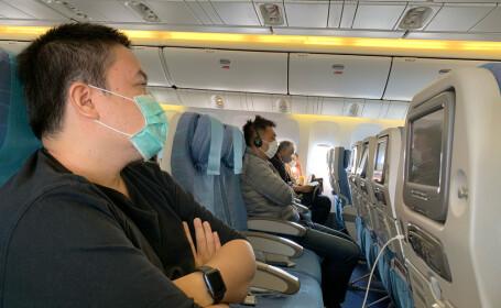Liniile aeriene care obligă pasagerii să poarte măşti în timpul zborului