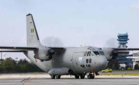 Aeronava Spartan care urma să trimită măști în Spania - 1