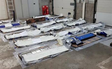 Român prins cu 250 kg de cocaină de polițiștii britanici. Unde erau ascunse drogurile