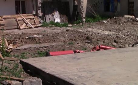 Constructorii au abandonat șantierele din orașul Răcari de frica contaminării cu Covid-19