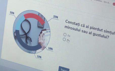 Aplicație care îți spune dacă ai putea fi infectat cu coronavirus, dezvoltată la Cluj