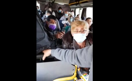 aglomeratie autobuz carantina