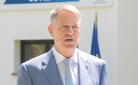 Klaus Iohannis, în vizită la Târgu Mureș