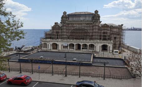 Descoperire de senzație la Cazinoul din Constanța. Ce au găsit experții în subsolul monumentului