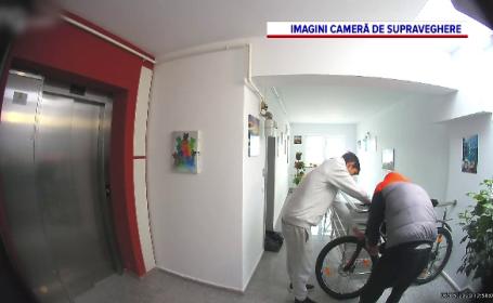 Cum s-au chinuit doi hoți patru ore să fure o bicicletă. Cum s-a terminat
