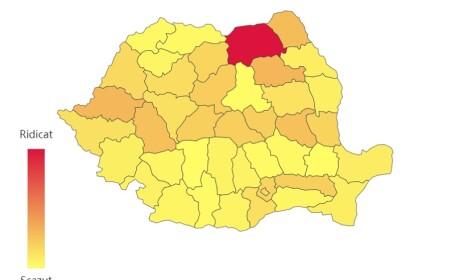 Județele din România unde nu s-a mai înregistrat niciun caz de Covid-19