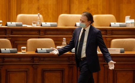 Cîţu: L-am auzit pe preşedintele PSD cerând ajutorul AUR pentru o moţiune de cenzură. Aici s-a ajuns