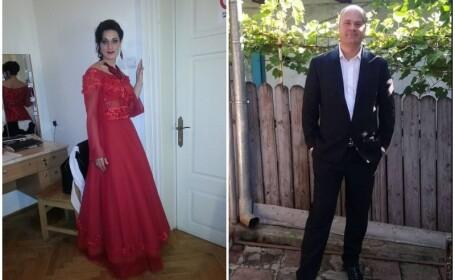 Mezzosoprana Maria Macsim Nicoară și sotul ei, Codrin Nicoară