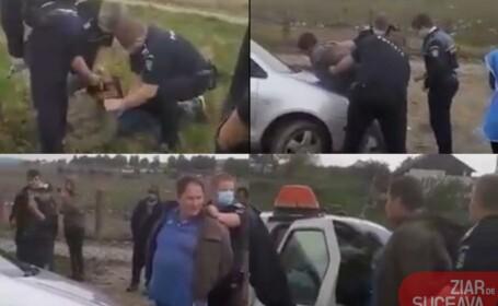 Scandal într-o comunitate de romi din Suceava. Un italian a încercat să recupereze o datorie cu pistolul