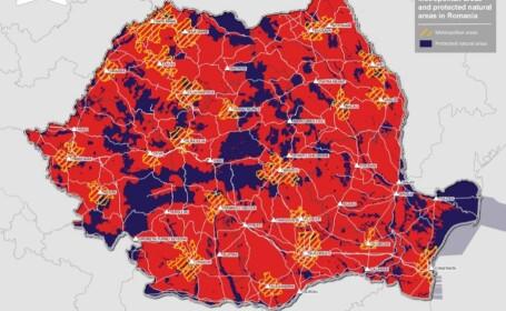 Care sunt cele 22 de zone metropolitane din România