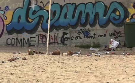 În primul weekend în care au avut voie să se plimbe românii au umplut țara de gunoaie