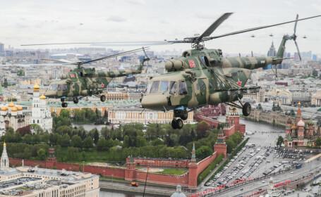 Un elicopter al armatei ruse s-a prăbușit la Moscova. Tot echipajul a murit