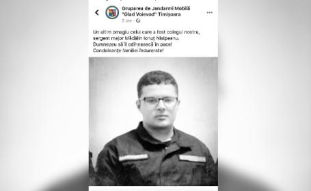 Un jandarm dispărut acum trei luni a fost găsit fără viață. Nimeni nu știe ce i s-a întâmplat