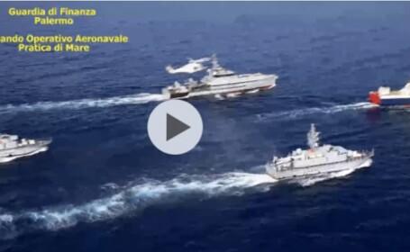 Sentințe în procesul uneia dintre cele mai mari capturi de droguri din Italia. Comandantul navei, un român