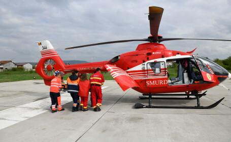 Caz dramatic în Timiș: asistent de pe un elicopter SMURD, chemat să își salveze propriul copil