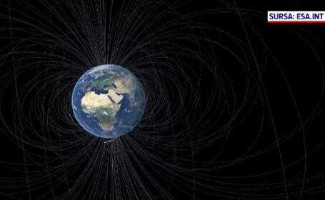 Anomalia descoperită în câmpul magnetic al Terrei. Ce spune un expert român despre inversarea Polilor
