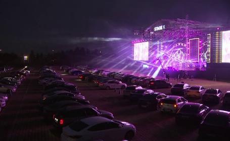 Soluția salvatoare pentru artiști. Concert drive-in cu sute de persoane în Coreea de Sud