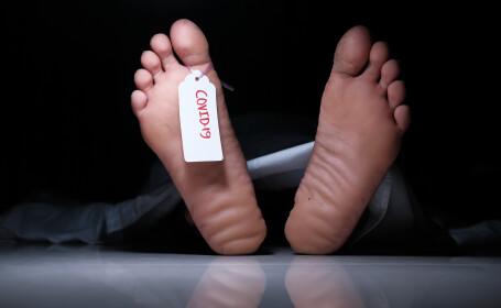cadavru covid