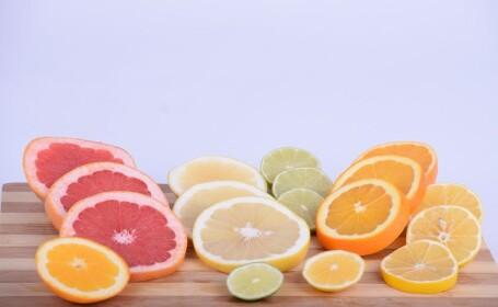 (P) 6 beneficii ale citricelor în alimentație