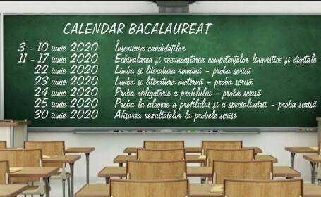 Măsuri stricte la examenele nationale 2020 - 6