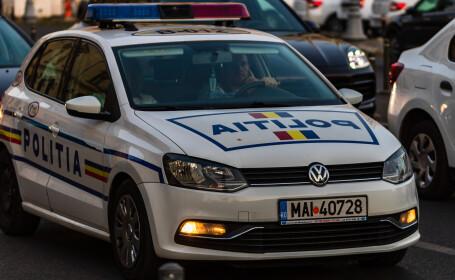masina de poliție