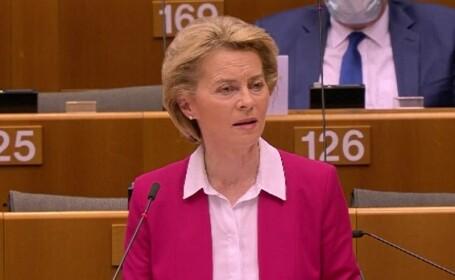Ursula Von der Leyen, preşedintele Comisiei Europene