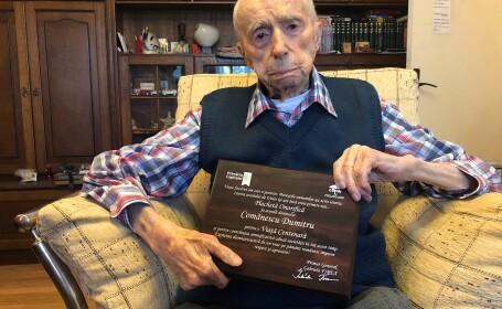 Un român a devenit oficial cel mai bătrân bărbat din lume. Care a fost reacția lui