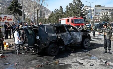 Cel puţin 21 de morţi şi 90 de răniţi în Afganistan, într-un atac cu mașină capcană