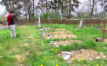Ce au găsit două surori din Dâmboviţa în cimitir, chiar de Paşte. \