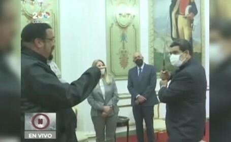 Steven Seagal, Nicolas Maduro