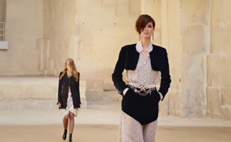 """Casa de modă """"Chanel"""" și-a prezentat noua \"""