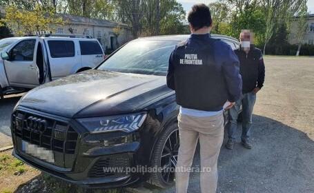 Autoturism de lux de peste 100.000 de euro, furat din Germania, descoperit de poliţiştii de frontieră constănțeni