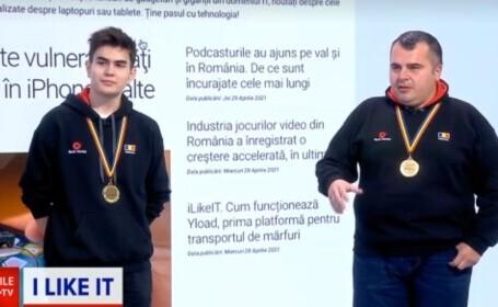 Echipa națională de robotică s-a întors numai cu medalii de aur din Rusia. Demonstrație de forță, în platoul iLikeIT
