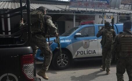 Zeci de morți în Brazilia, după un schimb de focuri între poliție și traficanți de droguri