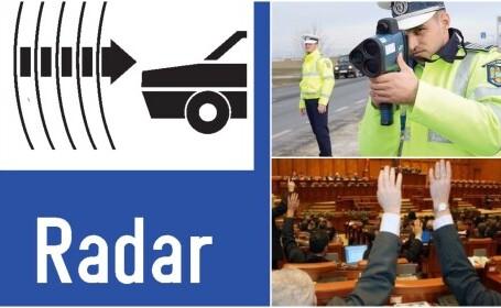 Codul Rutier, modificat din nou! Ce se va întâmpla cu radarele. Noi reguli în trafic