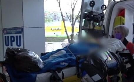 O femeie de 44 de ani, din Vaslui, a ajuns la spital, după ce a fost incendiată de propriul soț
