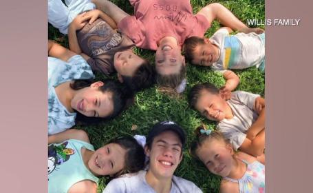 """Cum au ajuns 7 frați orfani din Texas să fie adoptați. """"Instant am simțit că trebuie să fiu mama lor"""""""
