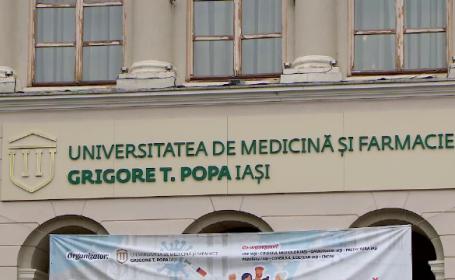 Studenții mediciniști de la Iași ameninţă cu plângere penală pentru că nu sunt primiți la examene fără vaccin sau test PCR