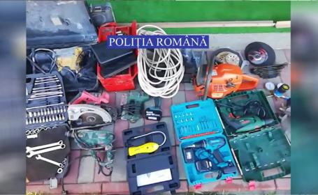 O rețea de hoți care a făcut prăpăd la combinatul siderurgic Galați, capturată de polițiști